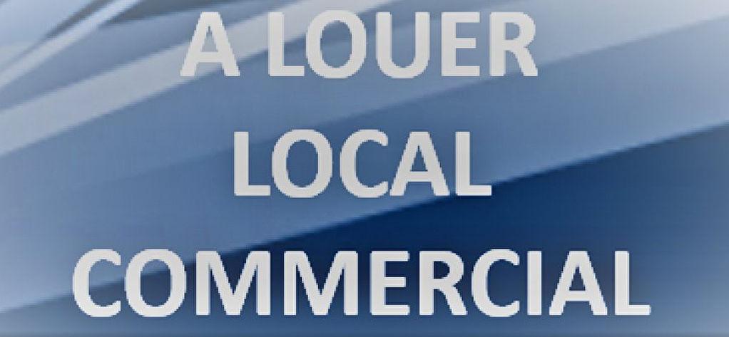 A LOUER Local commercial Lanvallay  centre.